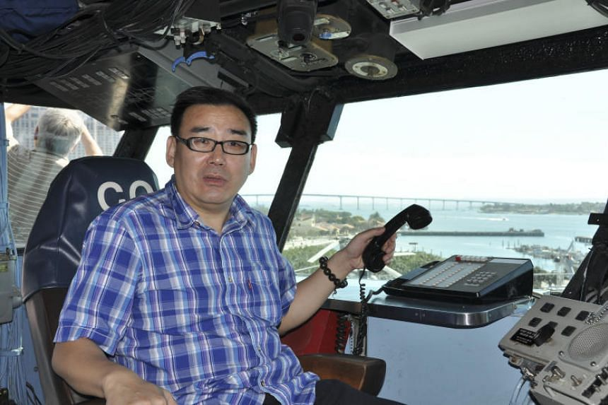 Yang Hengjun, a well-known writer and former Chinese official with Australian citizenship, in San Diego in 2012.
