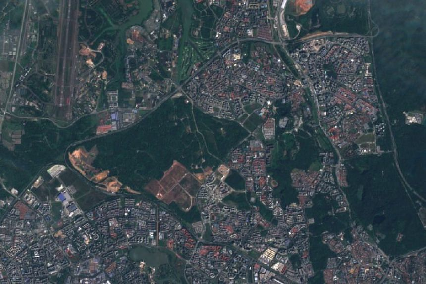 The site in Tengah, which was previously used for military training, was zoned for residential use, for the purposes of developing a new HDB town.