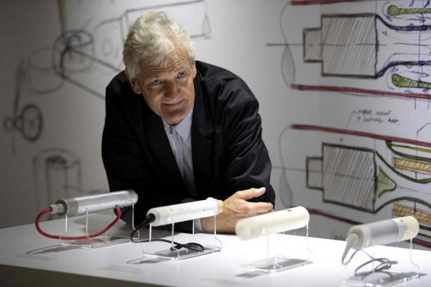 Dyson founder Mr James Dyson. Dyson's corporate head office will relocate from Britain to Singapore, where a rising proportion of its executive team will be based.