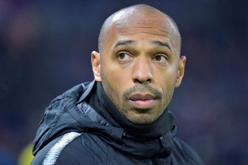 """Monaco have decided to suspend Thierry Henry... until a final decision (on his future) is made,"" the principality club said in a statement."