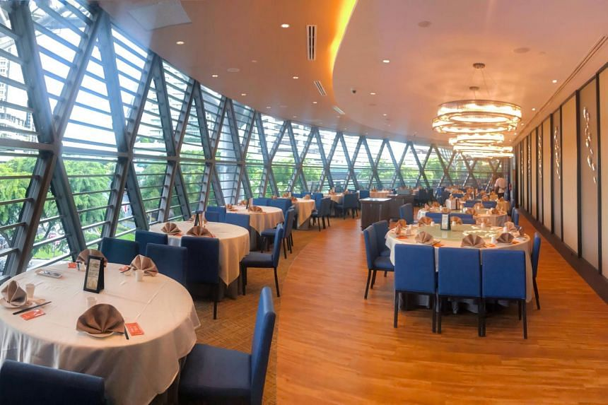 The Jumbo Seafood restaurant marks the chain's first foray into Orchard Road. It is also the only outlet to offer dim sum.