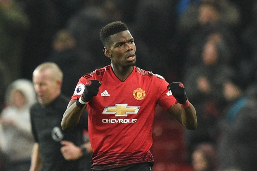Paul Pogba, who performed erratically for his club over the first half of the season, has scored five goals in six appearances since Solskjaer arrived as interim boss on Dec 19.