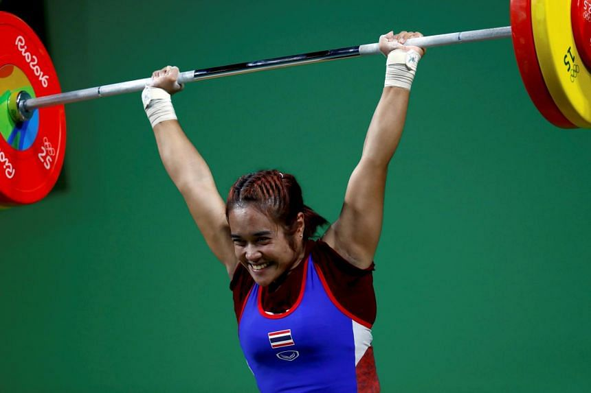 Sopita Tanasan is one of the six weightlifters facing a ban from the Tokyo 2020 Games, after positive tests in the World Championships.