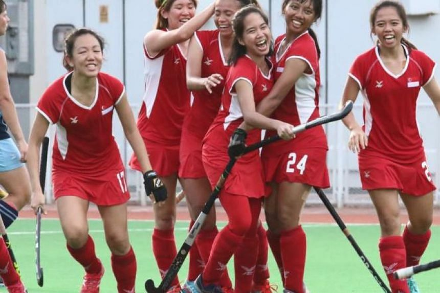 Singapore Hockey Federation president Mathavan Devadas said that there are no targets yet, but hopes that the team can improve their world ranking by at least five places.