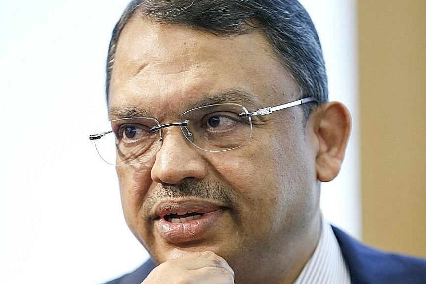 Olam group CEO Sunny Verghese says the new strategy builds on an earlier focus on digitalisation and sustainability. Peanuts having their skins removed at a farm in the United States. Olam will invest US$3.5 billion in 12 segments deemed attractive o