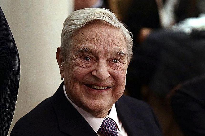 Mr George Soros , billionaire investor..