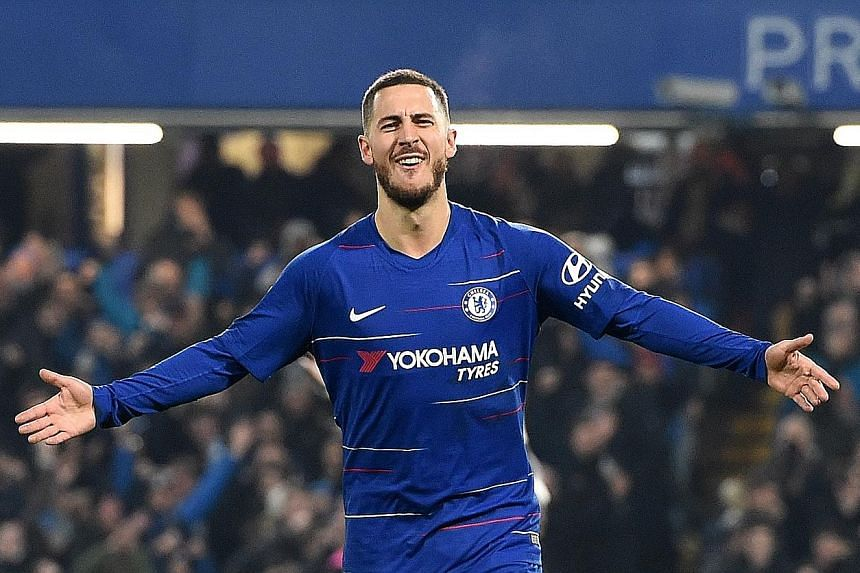 Following the League Cup semi-final win over Tottenham, Eden Hazard is now looking forward to next month's final against Manchester City in the belief that Chelsea can defeat the Cup holders.
