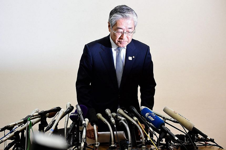 Japanese Olympic Committee president Tsunekazu Takeda, who was charged this month, had told French authorities that Singapore consultancy Black Tidings had been recommended by Dentsu.