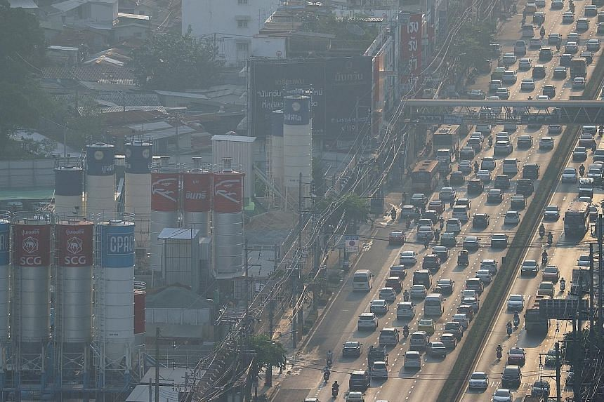 Academic studies of Bangkok's air reveal that within the very fine PM2.5 dust particles are at least 51 kinds of heavy metals, and cadmium, tungsten and arsenic are at unsafe levels by World Health Organisation standards.
