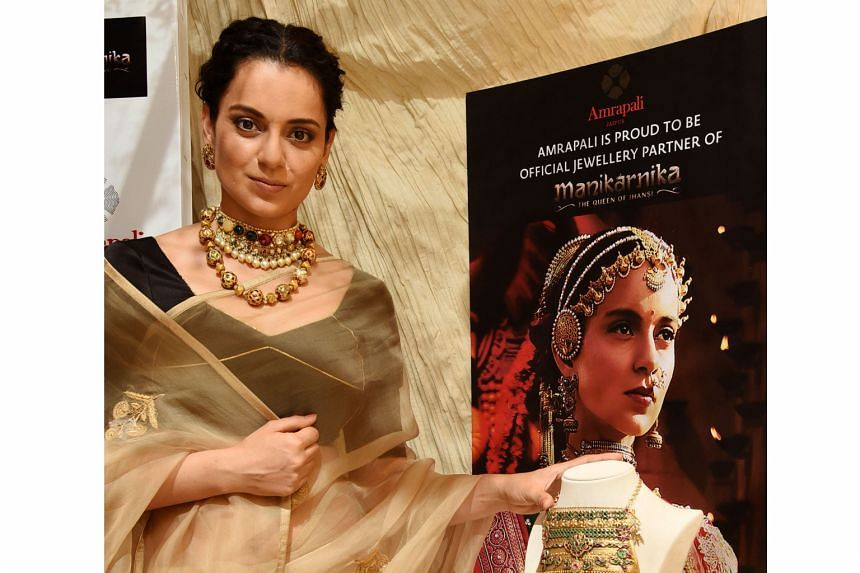 Actress Kangana Ranaut stars as the title character in Manikarnika: The Queen Of Jhansi.