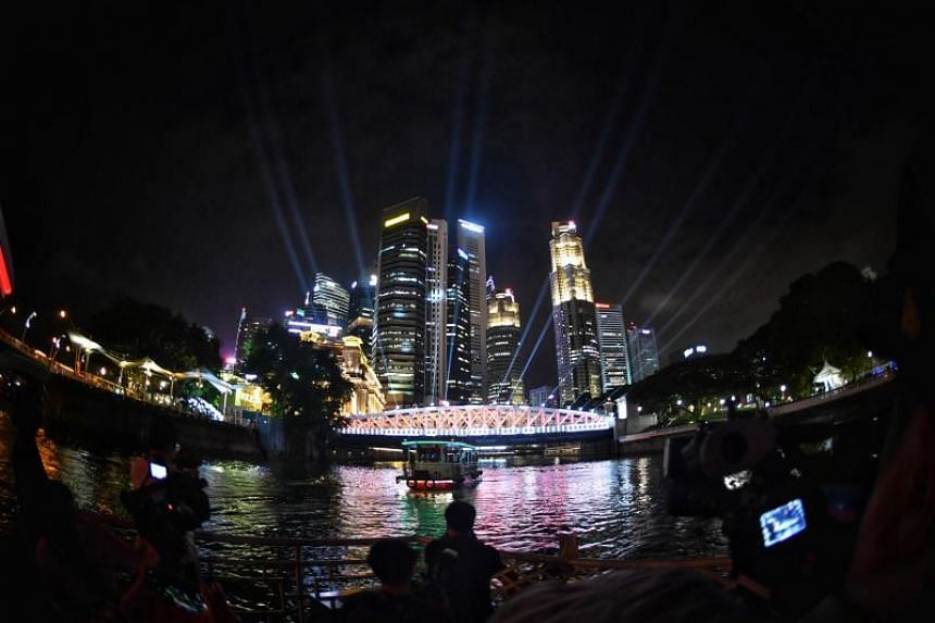As part of the bicentennial edition of iLight Singapore, there will be light installations at the National Gallery as well as a boat tour that will take in the light installations at the six bridges along the river.