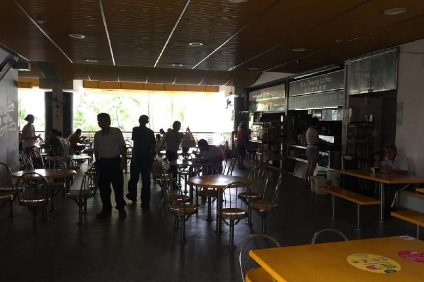 A power outage was experienced in parts of Singapore, including Shunfu Mart Food Centre, on Jan 26, 2019.