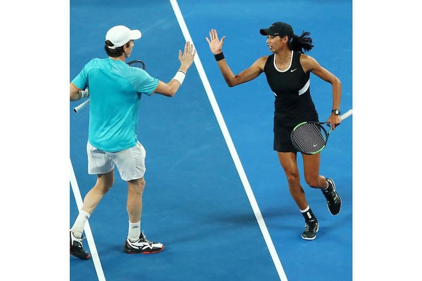 "Astra Sharma praised her Australian partner John-Patrick Smith, saying, ""JP sees and reads the court so well""."