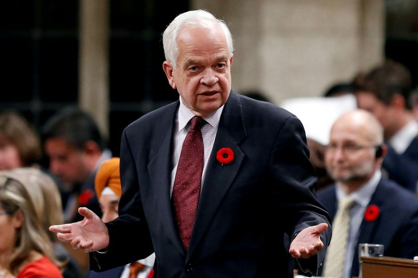 John McCallum speaking in the House of Commons on Parliament Hill in Ottawa in 2016.
