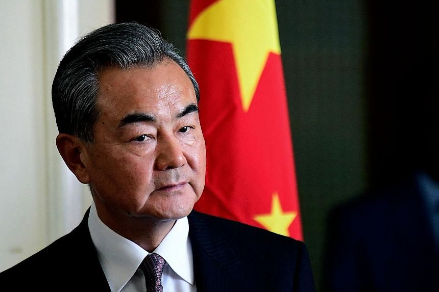 """Foreign Minister Wang Yi urged nations not to use """"fabricated"""" excuses to block the Chinese telecoms giant."""