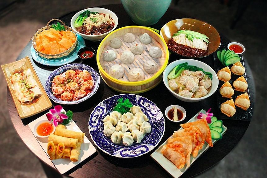 Terminal M: Singapore-style chicken yong tau fu with secret MOF sauce and chicken xiao long bao in six Singaporean flavours