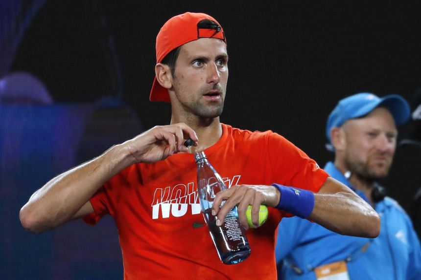 Seven years after their most famous encounter in Melbourne, Novak Djokovic (above) and Rafael Nadal will meet again at the Rod Laver Arena.