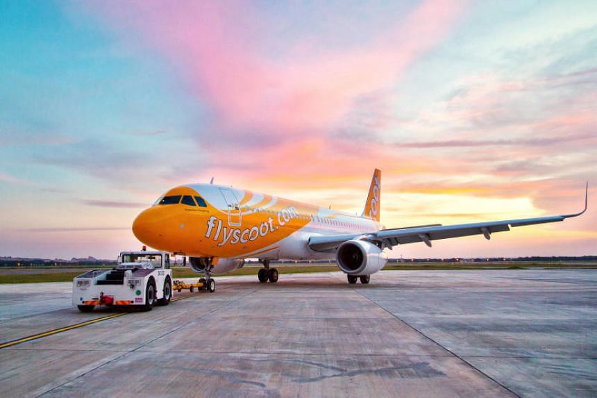 A file photo of a Scoot aircraft. Scoot flight TR19 from Melbourne to Singapore was cancelled due to technical issues, leaving 295 passengers stranded on Sunday (Jan 27). PHOTO: SCOOT