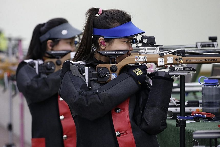 Ho Xiu Yi finished fourth in the qualifying round of the H&N Cup with a score of 630.8. She broke the 629.6 mark set by Martina Lindsay Veloso at the Singapore Cup last November.