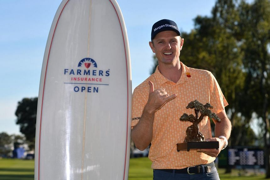 Justin Rose's latest victory was his 10th on the United States PGA Tour.