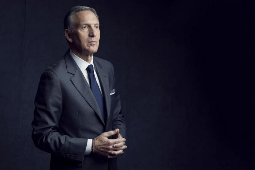 """Mr Howard Schultz, the former chief executive of Starbucks, is a self-described """"lifelong Democrat"""" but plans to run as an independent candidate."""