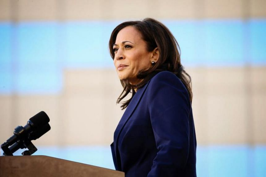 Ms Kamala Harris, who was California's attorney general from 2011 to 2017, made her announcement to supporters outside city hall in Oakland, San Francisco's grittier neighbour where she was born.