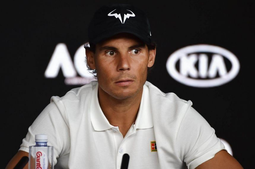 Rafael Nadal had played an outstanding level of tennis at the tournament without dropping a set until he met his arch-rival on the Rod Laver Arena.