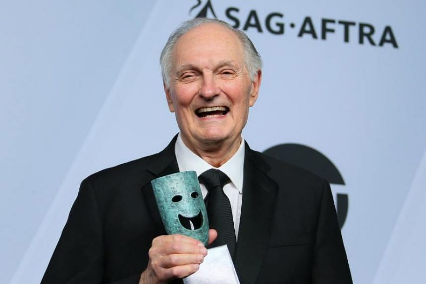Actor Alan Alda, who is probably best known for the series M*A*S*H (1972 to 1983), received the Screen Actors Guild life achievement award.