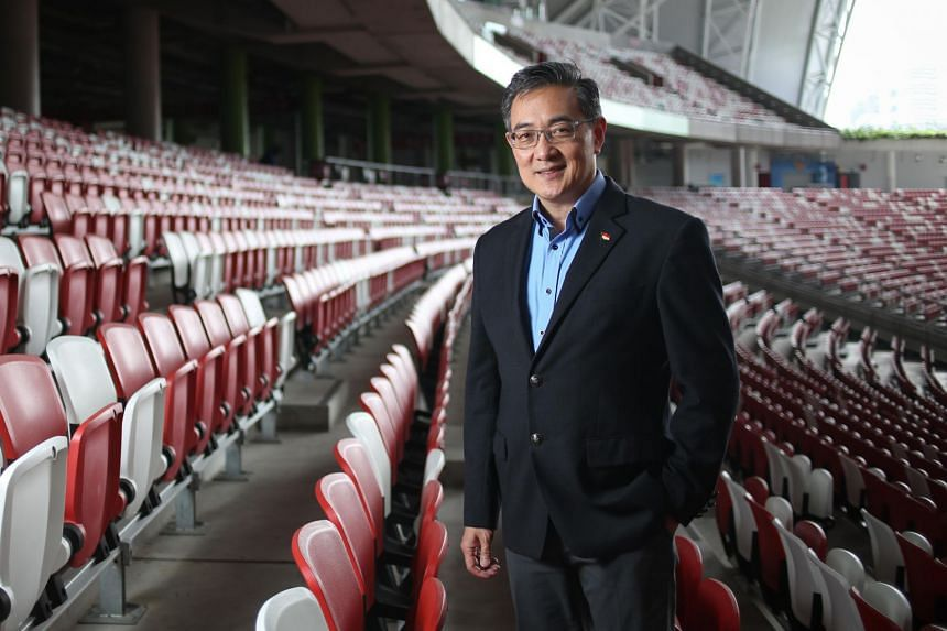 Oon Jin Teik was named CEO of the Singapore Sports Hub facility in January 2018.