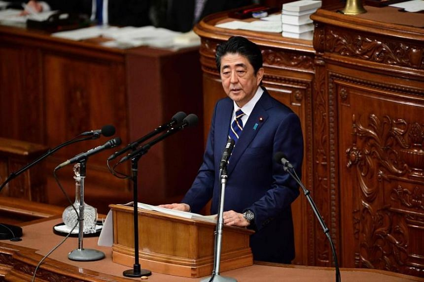 "Japan's prime minister Shinzo Abe also vowed to push Sino-Japan ties ""to a new stage""."