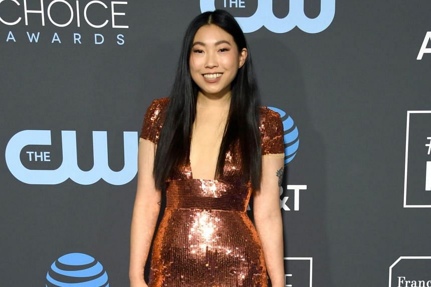 Asian-centric movie The Farewell stars Awkwafina as a Chinese-American who returns to China to visit her ailing grandmother.