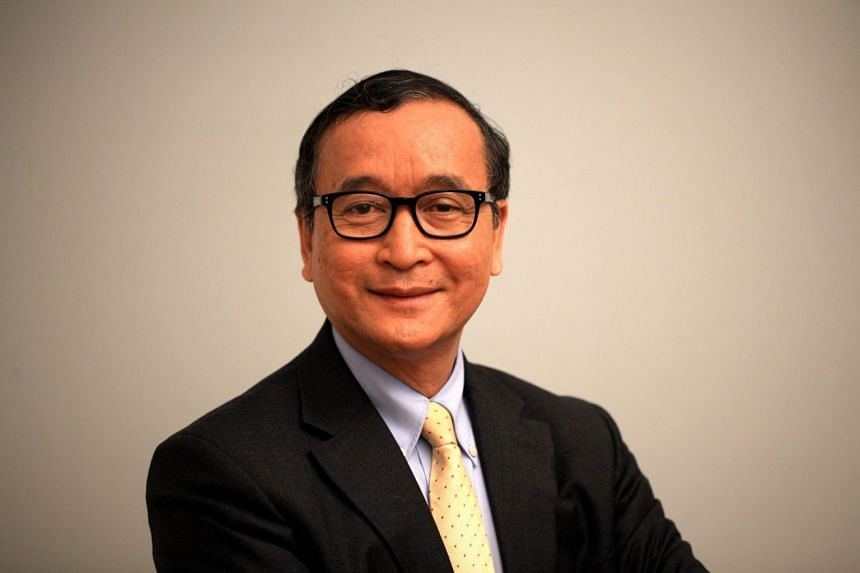Mr Sam Rainsy's opposition Cambodia National Rescue Party (CNRP) was dissolved by the Supreme Court in 2017 and 118 CNRP members were banned from politics ahead of the 2018 general election.