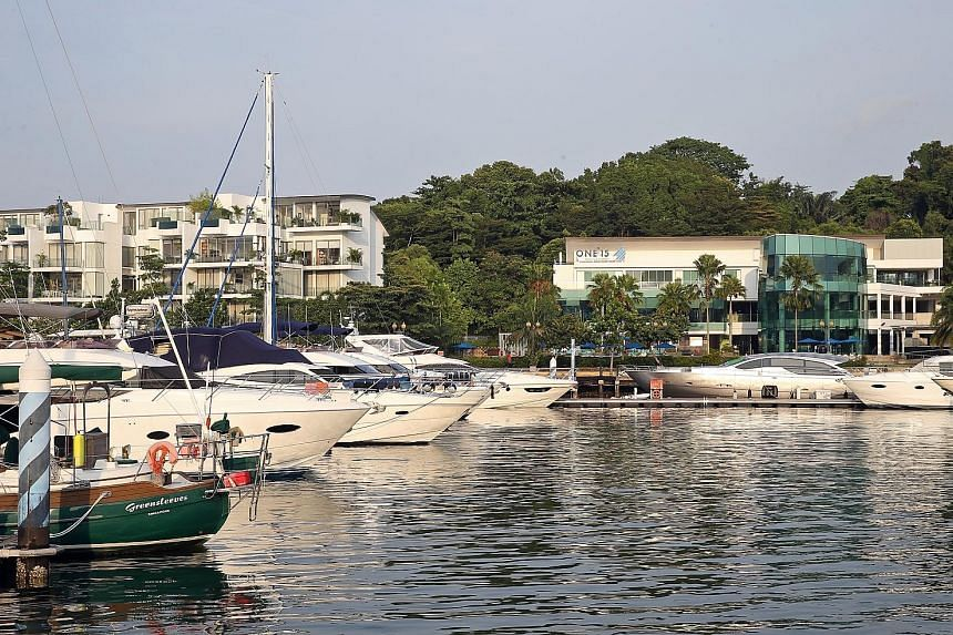 One15 Marina Sentosa Cove Singapore will host more than 70 boats and teams during the SB20 World Championships 2021.