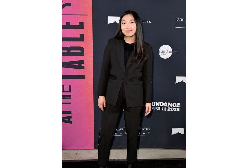 American rapper-actress Awkwafina at the Sundance Film Festival last week, where The Farewell, which she stars in, drew a standing ovation.