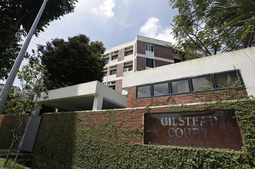 Built around 1978, Gilstead Court comprises 24 apartments of 129 sq m each, and 24 apartments of 136 sq m each, totalling 48 units in three four-storey apartment blocks.