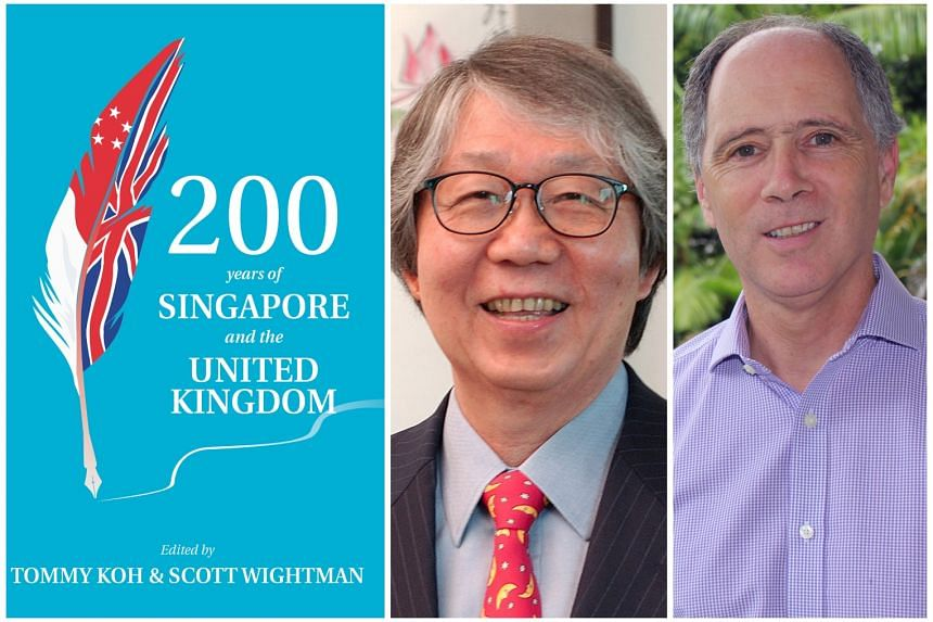 200 YEARS OF SINGAPORE AND THE UNITED KINGDOM (left), Edited by Tommy Koh (middle) and Scott Wightman (right)