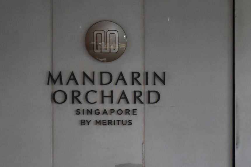 NEA said that the banquet kitchen serving the grand ballroom at Mandarin Orchard was suspended for 55 days from Dec 5 to Jan 28 to protect consumers from public health risks.