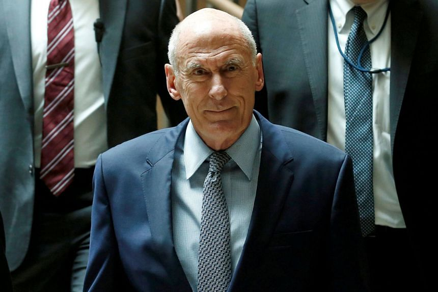 Director of National Intelligence Dan Coats arriving at Capitol Hill in Washington, on Aug 22, 2018.