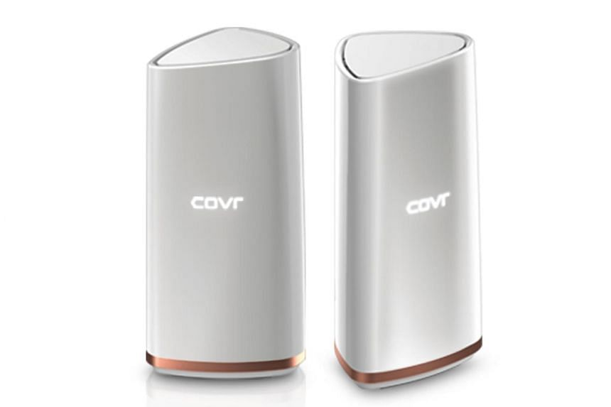 The Covr-2202, comes with three wireless bands, up from the two bands of the previous Covr-1203 model.