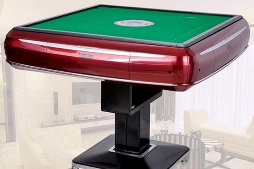 The automated mahjong table can automate the shuffling and assembling of the mahjong tiles