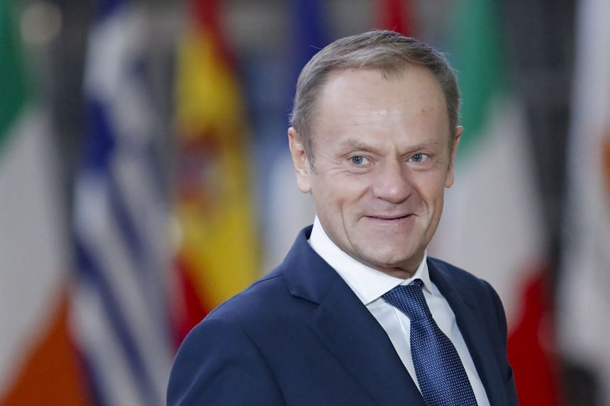 "Tusk said that the Withdrawal Agreement ""is and remains the best and only way to ensure an orderly withdrawal of the UK from the EU""."