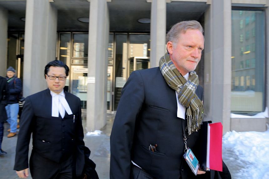 Crown Attorney Michael Cantlon leaves court after Bruce McArthur pleaded guilty to the murders of eight men.