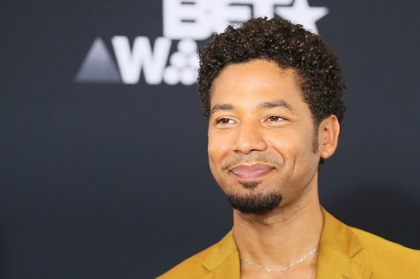 Smollett (above) is best known for playing gay R&B musician Jamal Lyon on Empire.