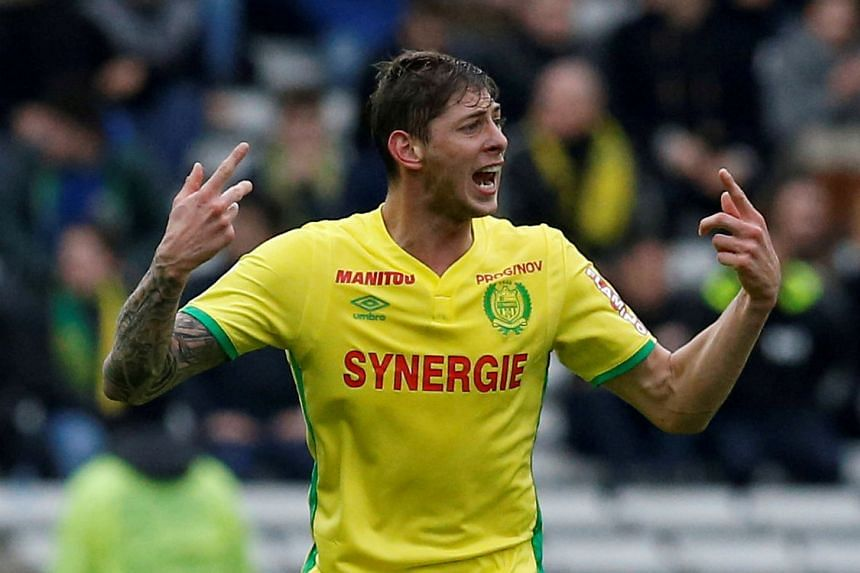 Emiliano Sala in action for Nantes.