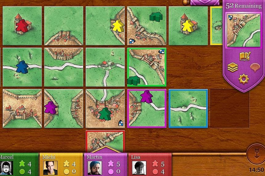 Board-game mobile apps.