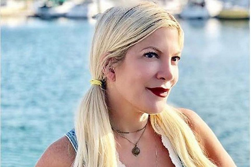 American Express Centurion Bank has asked the Los Angeles County Sheriff's Department to help recover the amount owed by Tori Spelling.