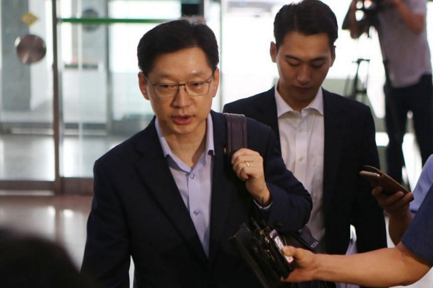 Kim Kyoung-soo was found guilty of colluding with a blogger to artificially generate more than 88 million likes and dislikes on comments on 76,000 news stories.