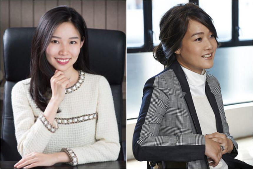 Theresa Tse (left) and Sonia Cheng are among third-generation women being groomed for leadership at conglomerates created by some of Hong Kong's wealthiest patriarchs.