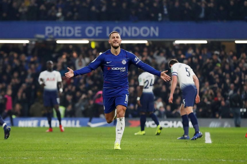Eden Hazard has been linked with a move to Spanish side Real Madrid in recent months and had said in Oct 2018 that it was his dream to play for the reigning European champions.