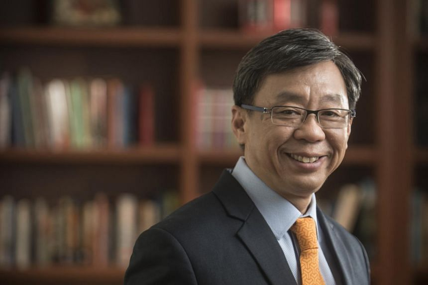 Yale-NUS College president and historian Tan Tai Yong said that the study of Singapore's history as a port city can supplement colonial and nation-state narratives at a IPS-Nathan lecture at Yale-NUS College on Jan 30, 2019.
